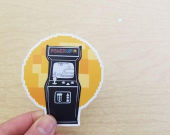 FRC PowerUp Vinyl Sticker
