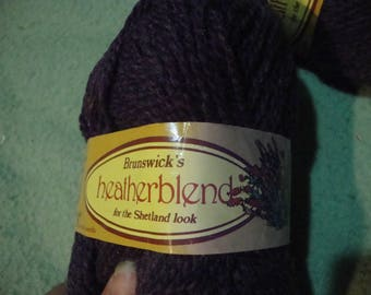 yarn brunswick heather blends - crocus