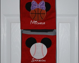 Sports Ball Mouse Head Family Magical Boat Fish Extender Pocket Organizer