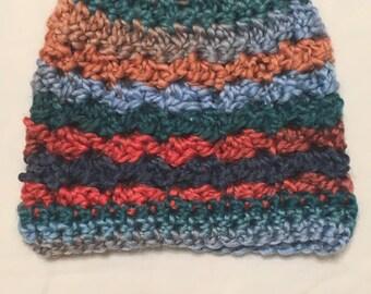 Bright Multi-colored Baby Winter Hat