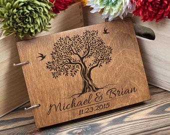 Wedding Guest Book, Guest Book, Custom Guest Book, Tree Guest Book, Wedding Guestbook, Rustic Guest Book, Wedding, Wedding Tree, Family Tree