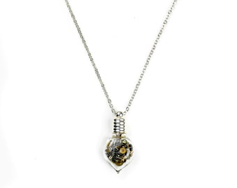 Steampunk Glass Vial Necklace