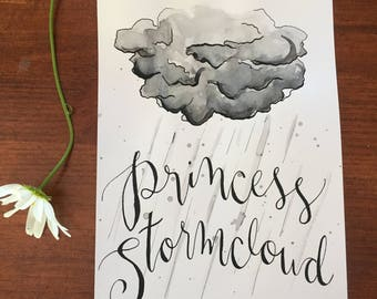 Princess StormcloudTM Poster