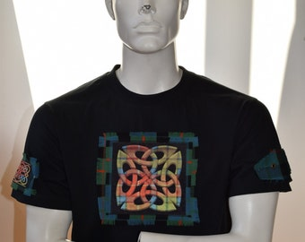 Celtic shirt - mens celtic t-shirt - celtic knot design