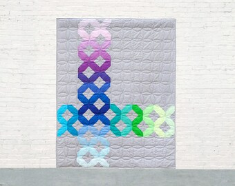 Color Crossing PDF Quilt Pattern