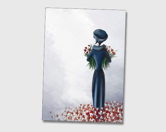 The Daffodil- 11x8 or 16,5x11 inches fine art print- Signed - Printed by a professional
