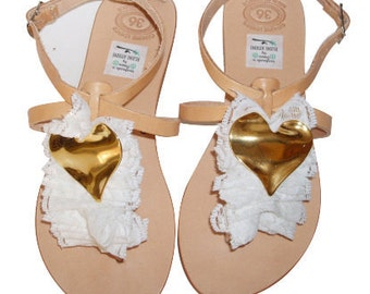 Bridal or bridesmaid sandals  /weddings