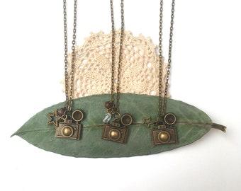 CAMERA // Romantic Vintage Necklace //