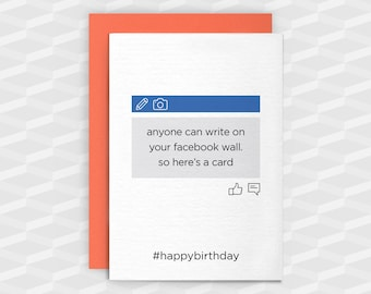 Facebook card etsy birthday cardsgreeting cardsanyone can write on facebook wallbirthday funny bookmarktalkfo Image collections
