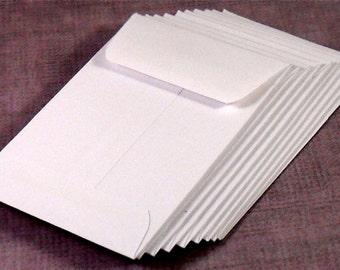 Coin Envelopes, Mini, White Set of 100