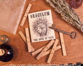 Oraculum - Victorian parlor game magic magical oracle divination fortune teller fate future vintage steampunk imagination destiny larp prop