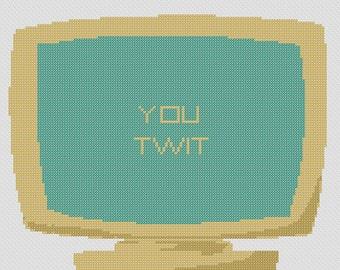 You Twit Cross Stitch Pattern