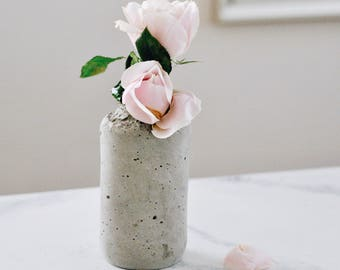 Deconstructed Concrete Vase