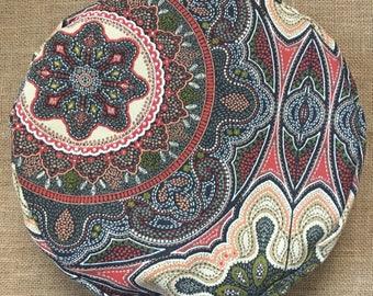 Meditation Cushion  ~ Zafu ~ Floor Cushion ~ Yoga Cushion ~ Meditation Pillow