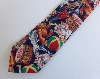 "Vintage Joe Boxer Necktie - ""Christopher's Toy Box"""
