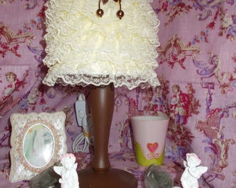 LAMP SHABBY CHIC skirt