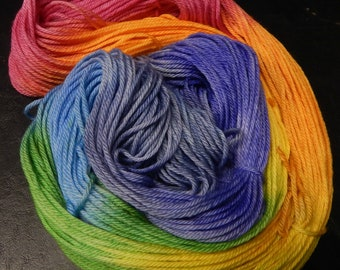 Deluxe Worsted Superwash - Beautiful Like A Rainbow