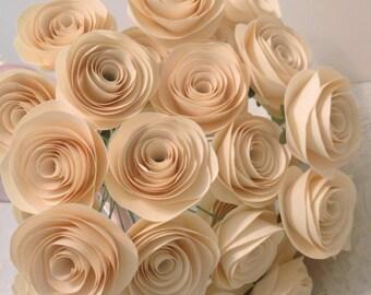 Handmade Paper Flower Bouquet; Mother's Day, Birthday, Wedding, Home Decor