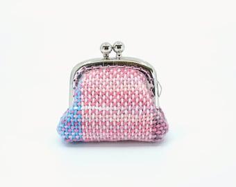 Handwoven Petite Kisslock Purse - Sweet Summer