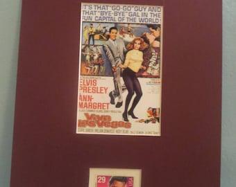 """Elvis Presley and Ann Margaret in 'Viva Las Vegas"""" honored by his own stamp"""