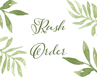 Rush My Order (add-on)