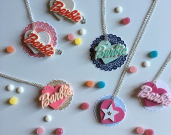 Barbie Necklace in Ready sale