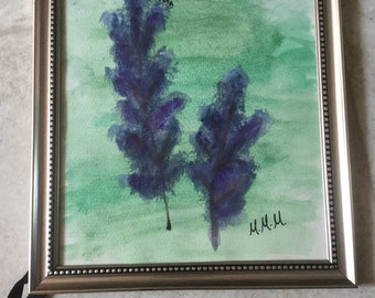 Catmint Painting