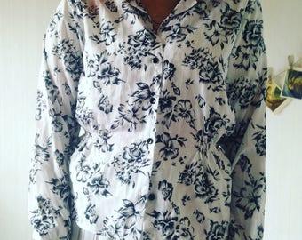 Vintage Hawaiian Blouse shirt