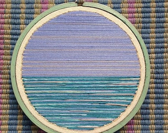Sea Within A Sea Hand Embroidery