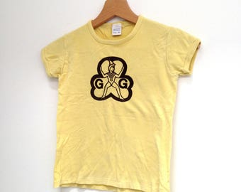 Vintage tshirt tee Childs top Girl Guides / Brownies