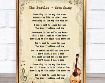 The Beatles Strawberry Fields Forever Song Lyric Vintage Quote Print