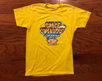 Vintage 1980's screen stars atari space invaders kids T-Shirt