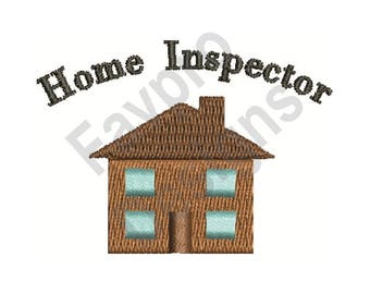 Home Inspector - Machine Embroidery Design