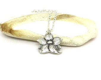 Beautiful Dogwood Blossom necklace, Blossom necklace , Gift for her necklace