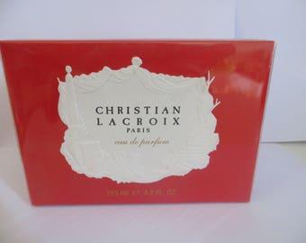 CHRISTIAN LACROIX Eau De Parfum for women 125ml 4.2 fl.oz rare discontinued