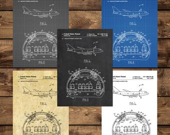 INSTANT DOWNLOAD -Airplane Patent, Airplane Decor, Airplane Art, Airplane Print, Aviation Decor, Airplane Patent, Aviation Art, Pilot Gift