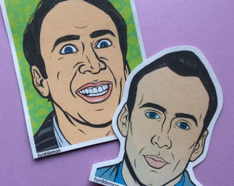 Nic Cage Sticker Pack