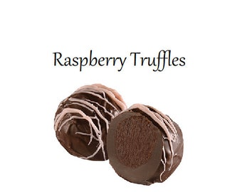 Truffles, Raspberry Truffles
