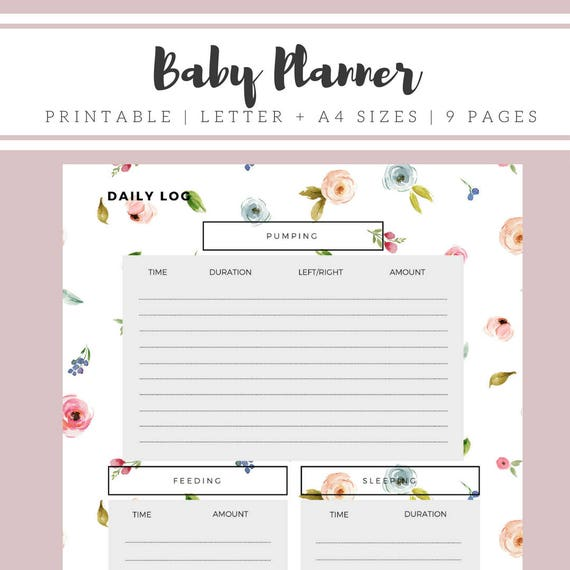 It's just a graphic of Gorgeous Printable Baby Schedule