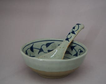 Buru Design Rice Bowl and Spoon set
