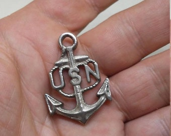 3 Day Spring Clearance Vintage WW2 US Navy Key Chain Fob