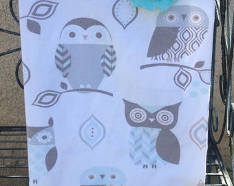 Who Gives a Hoot OWLS Kitchen Towel