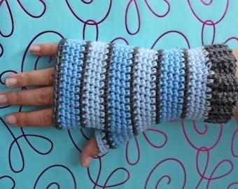 Livraison internationale gratuite modèle - plaines Fingerless Gloves-