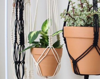 Macrame Plant Hanger for Medium Sized Pot