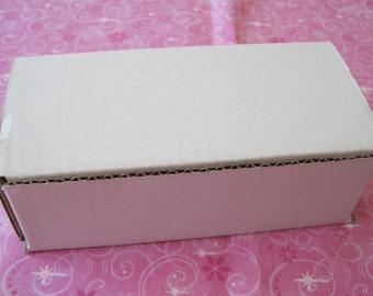 5 Shipping Boxes, White Boxes, Mailing Boxes, White Shipping Box, Cardboard Boxes, Shipping Supply, Packaging Supplies, Small Boxes 6x2x2