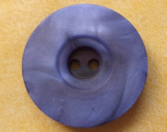 8 large blue BUTTONS 23mm 28mm (6549 6299) coat buttons jacket buttons