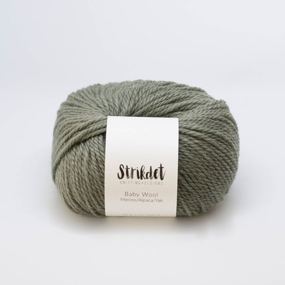 STRIKDET Baby Wool - forrest green