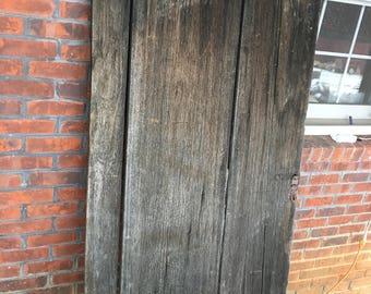 Wormy Chestnut Barn Door