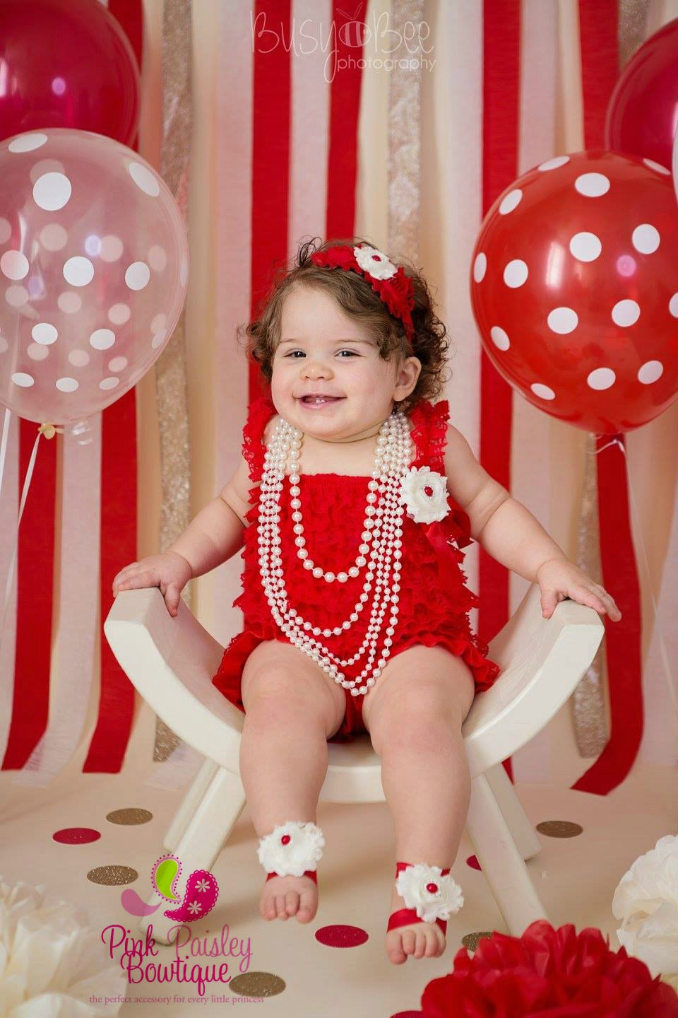 Elmo 1st Birthday Outfit - Baby Girl Clothes, 1st Birthday Dress ...