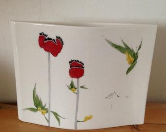Vase, Flower Vase, Baatz Vase, Made in USA